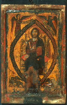 Byzantine Icons, Byzantine Art, Religious Icons, Religious Art, Grave Monuments, Mediterranean Art, Images Of Christ, Getty Museum, Orthodox Icons