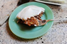 Stop the Presses - Zucchini Cake.  I think I found a way to use some of that zucchini I have frozen from this past summer's harvest.