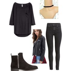 H&M by vanessaibarreto on Polyvore featuring polyvore, fashion, style, H&M and Forever 21