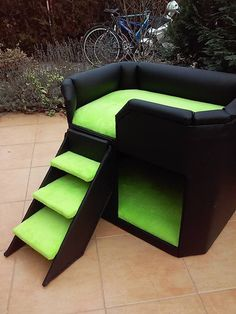 Hund: Schlafplätze - Hundesofa, Hundebett, Schlafplatz - ein Designerstück von tildi62 bei DaWanda