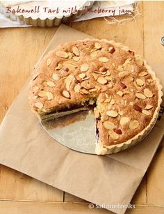 Bakewell tart is a traditional British recipe, from Derbyshire in Sheffield, though Bakewell pudding is more of a heritage recipe than anything else, probably dating back to Tudor times and earlier even. Bakewell Pudding, Bakewell Tart, Tart Recipes, Sweet Recipes, English Food, English Recipes, British Recipes, All You Need Is, Recipes Using Fruit