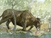 Terrae Scania Stenåldern Prehistoric Age, Dinosaurs, Social Studies, Classroom Ideas, Moose Art, Tips, Animals, Historia, Prehistory