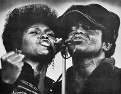 James Brown & Vicki Anderson