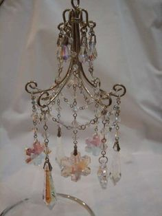 How to make a miniature chandelier