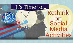 Visualistan: It's Time to Rethink on Social Media Activities #infographic