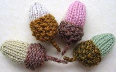 Free Knitting Pattern for Acorn