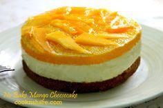 No Bake Mango Cheesecake | Cook n' Share - World Cuisines