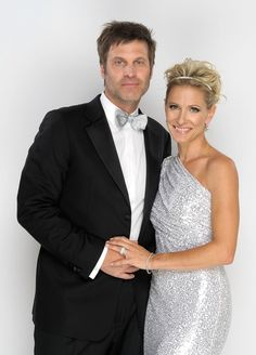 Jon and Kelley Menighan Hensley real life couple who met on ATWT