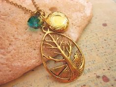 The giving tree pendant necklace