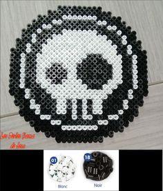 Emblème Mort vivant Skylanders Hama Perler Beads