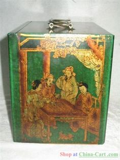 Fantastic old Mahjong box.