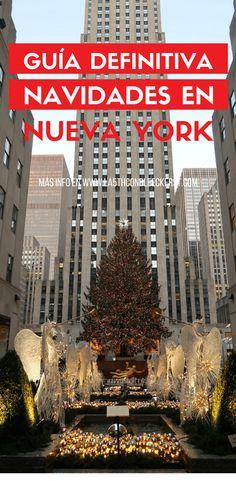 [ACTUALIZADA] Los mejores eventos y lugares de estas Navidades en Nueva York, te aseguro no las vas a olvidar fácilmente. #NuevaYork #NYC #Manhattan #NuevaYorkTurismo Travel Guides, Travel Tips, New York Winter, Nyc, Travel Around, Travel Usa, New York City, Places To Go, Viajes