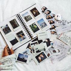 Album photos vintage - Scrapbooking ideal - Billets d'avion, places de concert, photos, écritures vintage => inspiration : Céline Dion : Encore un Soir 2016