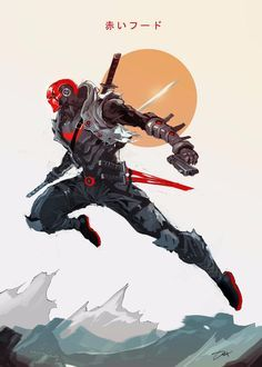Batman Kunst, Batman Art, Batman Robin, Batman Red Hood, Gotham Batman, Batman Ninja, Comic Character, Character Concept, Comic Books Art