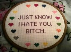 Knitting and cross stitching have recently become (somewhat) popular again, but they are still associated with thing our grandmas and great-grandmas did fo
