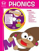 Phonics Workbook & CD  Now learning to read can be as easy as learning a few new songs! 12 songs teach the alphabet, initial consonant sounds, vowel sounds, consonant blends, rhyming words, and more! Reinforce the learning with practice pages in the 48-page full-color workbook!  $4.99