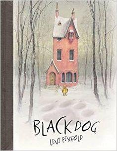 Black dog PINFOLD, Levi