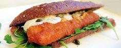 Broodje lekkerbek met rucola, ravigotto en kappertjes | Gewoon wat een studentje 's avonds eet | Bloglovin'