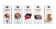 Packaging of the World: Creative Package Design Archive and Gallery: Vosges Luxury Baking Mixes