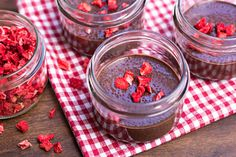Yes you can have your dessert and know that it will tame your chocolate craving but it also is packed full of nutrients with very few calories. One ounce has 11 grams of fiber, 4 grams of protein and lots of other vitamins and nutrients. This recipe allows for the creamy chia seeds to expand […]