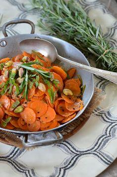 Salade de carotte au cumin et au citron {recette vegan et sans gluten}