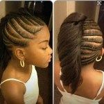 hairstyles for teens braided pressed mohawk