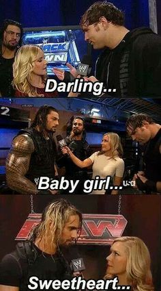The shield and Renee Young