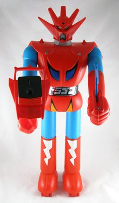 If I ever collect toys again it will be these.  Shogun Warriors in the US.  Jumbo Machinder to everyone else.
