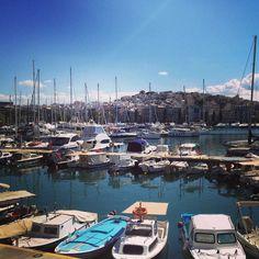 Pasalimani, small port - Athens-Piraeus Area,Attica, Greece