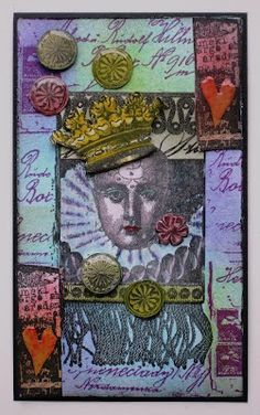 Lynne Perrella Stamps from PaperArtsy