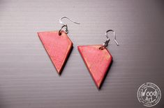 Your place to buy and sell all things handmade Wood Earrings, Recycled Wood, How To Distress Wood, Kind Words, Handmade Wooden, Craft Gifts, Wood Art, Natural Wood, Earrings Handmade