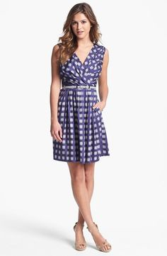 Ivy & Blu for Maggy Boutique Print Cotton Dress (Regular & Petite) available at #Nordstrom
