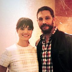 Tom Hardy with wife, Charlotte Riley at Palm Springs Film Festival - Jan. 8th 2015