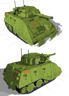 Heavy Gear Blitz Caiman by ~flaketom on deviantART