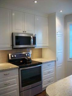 IKEA Kitchens - Lidingo White - traditional - Kitchen - Toronto - Home Reborn