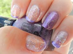 Crazy Nail Lady: Day 6-Candied Violets