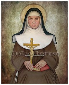 St. Catherine of Bologna 1413-1463 Feast day:  March 9 Patronage: Artists