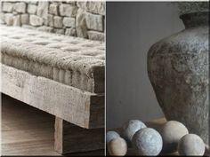 Rusztikus bútorok - Antik bútor, egyedi natúr fa és loft designbútor, kerti fa termékek, akácfa oszlop, akác rönk, deszka, palló Fa, Desi, Ottoman, Chair, Furniture, Home Decor, Home Decoration, Cottage Chic, Decoration Home