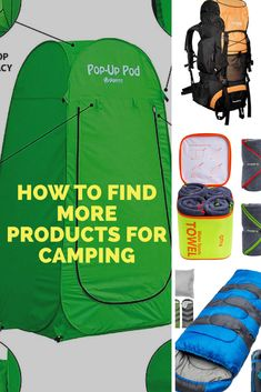 Camping Products Gadgets Camping Products, Vacation Destinations, Gadgets, Outdoors, Sports, Hs Sports, Outdoor Rooms, Sport, Off Grid