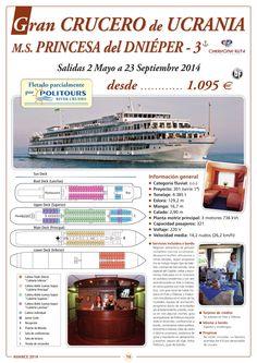 Gran Crucero de UCRANIA, dto. 8%: 90 días, sal. 2/05 al 23/09/14 (12d/11n) desde 1.095€ ultimo minuto - http://zocotours.com/gran-crucero-de-ucrania-dto-8-90-dias-sal-205-al-230914-12d11n-desde-1-095e-ultimo-minuto/