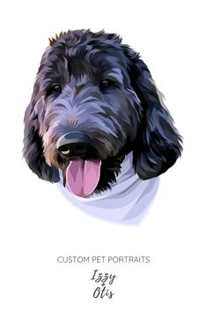 Hi Pet Parent! Are you searching for that perfect gift for an animal lover? Do you want a funny dog portrait or a hilarious cat portrait you can hang on your wall as a great conversation starter? Custom Dog Portraits, Portraits From Photos, Dog Photos, Pet Portraits, Digital Portrait, Portrait Art, Dog Mom Gifts, Dog Illustration, Dog Memorial