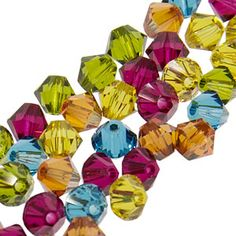 FusionBeads.com product that you love:   4mm Swarovski Elements crystal mixes