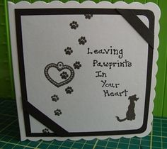 Pet sympathy card for a friend of my Husband by: LizzieS