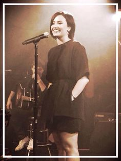 Demi Lovato at The Troubadour in LA for the First Annual Lovato Scholarship benefit - March 18th