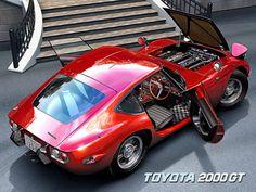 Classic Car News Pics And Videos From Around The World Toyota 2000gt, Classic Japanese Cars, Classic Cars, Maserati, Bugatti, Lamborghini, Airplane Car, Japan Cars, Toyota Cars