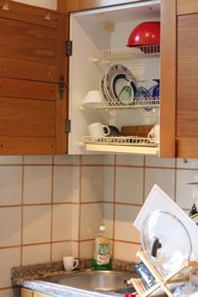 Drying Rack Placed Over The Sink Concealed In A Cupboard Italian Kitchens Are