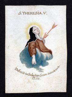 Sta. Teresa de Jesús, siglo XVII