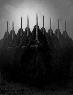 The nine Nazgul