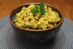 Puerto Rican-Inspired Green Plantain Mash (Mofongo) - a good alternative to mashed potatoes