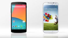 Gizmag compares the features and specs of the new LG/Google Nexus 5 and the Samsung Galaxy...